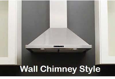 DKBC wall-mount chimney range hoods