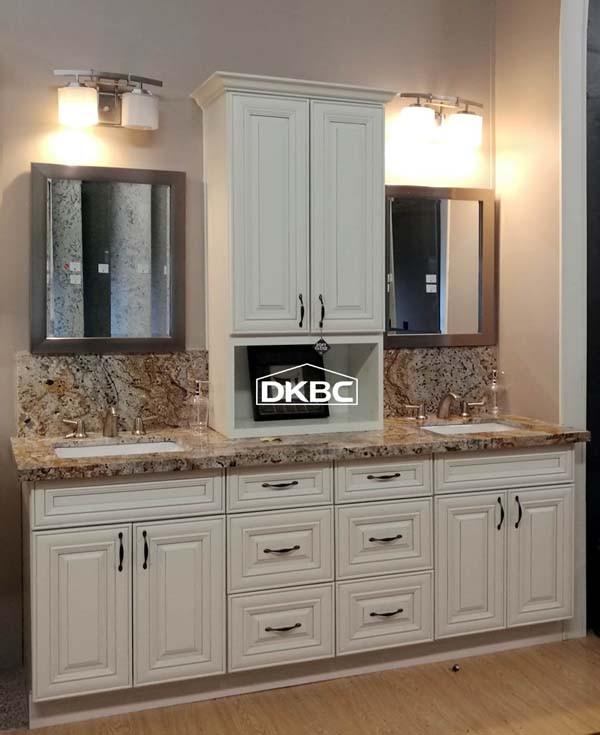 Antique White Raised Panel Kitchen Cabinets T39 | Discount ...