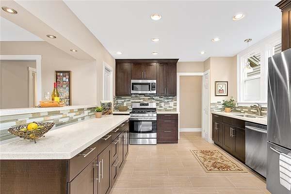 Espresso Shaker Maple Kitchen Cabinets M5 | Discount ...