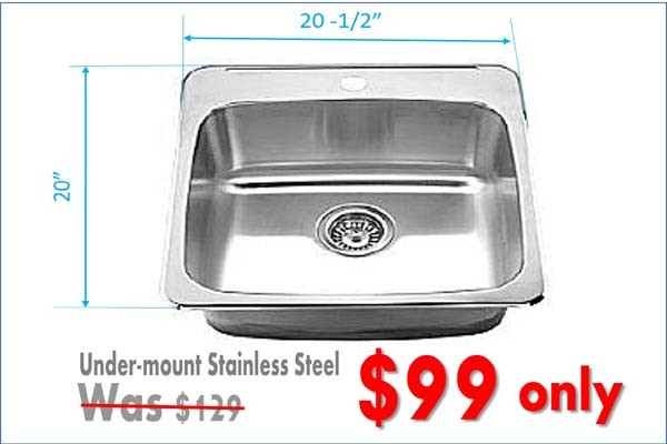 kitchen sinks on sale