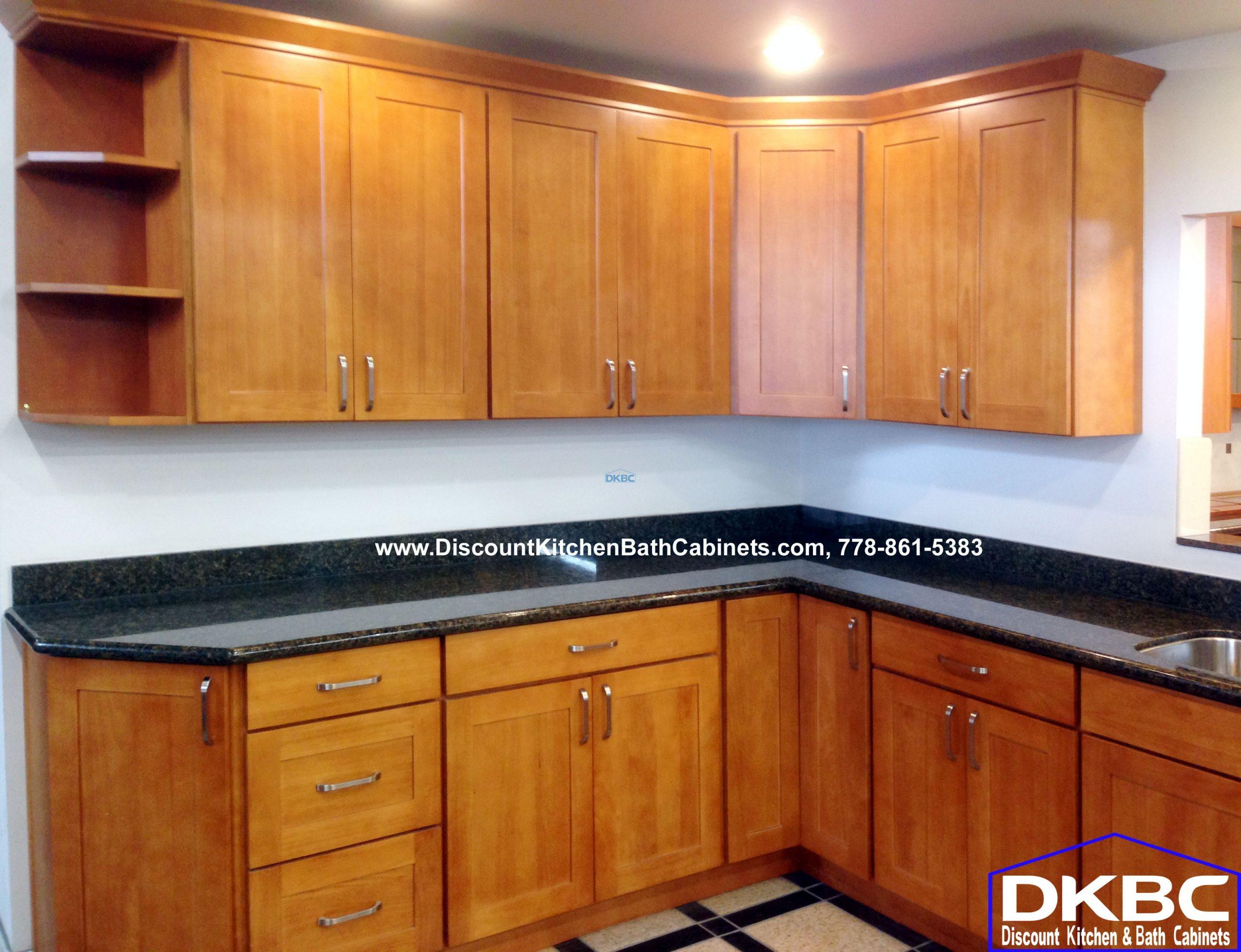 Honey Shaker Oak Kitchen Cabinets G4 | Discount Kitchen ...